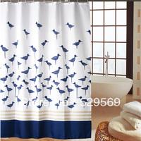 Free Shipping! Fashion Terylene Bathroom Shower Curtain Waterproof Thickening Bath Ball Customize