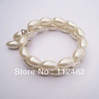 200pcs/lot Beige Pearls Napkin Rings Hotel Wedding Supplies Free Shipping