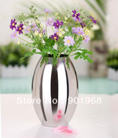 Home decoration hotel bar table decor brief Olive  tabletop flower Vase holder pot