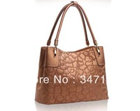 2013 fashion women handbag high quality genuine leather shoulder bag designer vintage bags new casual leather handbags big size