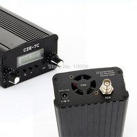 7W CZE-7C FM Transmitter Car MP3 PLL Transmitter Broadcast Equipment 76-108 MHz wholesale free shipping #170182