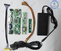 power Adapter + M.NT68676.2A(HDMI+DVI+VGA+Audio) LCD/LED Screen Controller Board Diy Monitor Kit