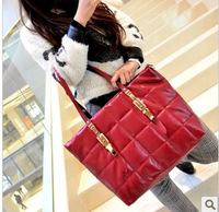 2013 new Winter Down shoulder handbag women totes messenger  bags  wholesale bolsas