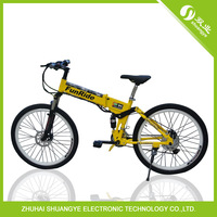 The 26 inch speed electric mountain bike lithium battery