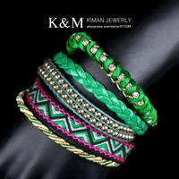 Серьги висячие K&M ( EA-03159