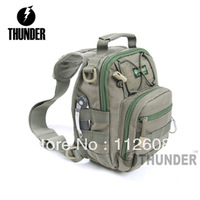 Free Shipping Thunder chest hamburger male messenger bag shoulder bag Army shoulder bag Multifunction messenger bag