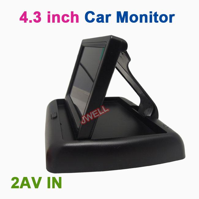 Автомобильный монитор JWELL 4.3' TFT LCD