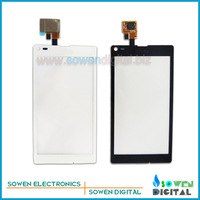 for Sony Xperia L S36h C2104 C2105 touch screen digitizer touch panel touchscreen,Original new,black white,free shipping