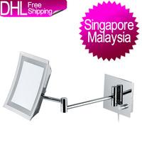 Malaysia and Singapore Free Freight GREENFROM Square Bath Shaving Mirror (Singapore/Philippine/Korea/Brunie/Malaysia/Thailand)