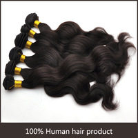 4pcs/Lot Body Wavy Natural Color Malaysian Hair Can Be Dyed