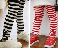 Free shipping! spring autumn children kids stripes Leggings girl child baby trousers full length pants 1pcs/lot