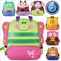 Bigger size animal shaped children backpack children double shoulder school bag kids backpack dinosaur tiger butterfly dog