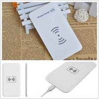 New Arrival Black QI Wireless Mobile Charging Platform Portable 5W Transmission Distance MC-02A For Galaxy S4 Iphone 5/4s/4