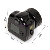 Free Shipping Mini HD Digital Camera Camcorder DVR Video DV Hidden video recorder Y2000