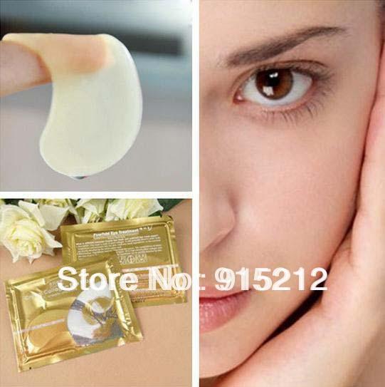 20pcs PILATEN Collagen Crystal Eye Masks Anti-aging, Anti-puffiness, Dark circle, Anti wrinkle moisture Eyes Care Freeshipping(China (Mainland))