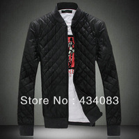 Free shipping cheap Winter slim wadded jacket male plus size cotton-padded jacket thickening outerwear thermal men's clothing