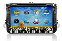 8 inch Car DVD GPS for VW PASSAT B6,B7,CC,GOLF5/6, SHARAN,CADDY, POLO,TIGUAN,TOURAN, Free 8G SD Card with Map