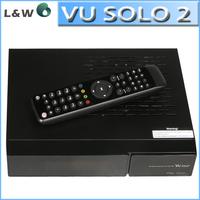 Vu Solo 2  Dual Core dvb-s2 Tuner 1300 MHz CPU Original Linux System Decoder Satellite Receiver  Free Shipping vusolo2