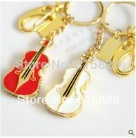 NEW 2014 Red Violin usb flash drive pen drive creative personality style usb 2.0 memory card flash drive usb Fashion pen drive