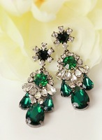 New 2014 Hot sale  fashion earring shourouk crysta vintage statement shourouk Earrings for women jewelry wholesale Price
