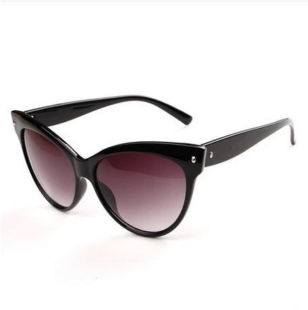 NEW 2014 Cat Shape Vintage Retro Sunglasses Oculos de sol Women gafas four colors 15-6-0 N114 Free Shipping(China (Mainland))