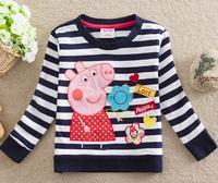 One pcs!!! children clothing Peppa pig t-shirt baby girls boys T-shirts child kids peppa pig t shirts