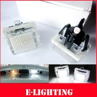 2X18SMD LED LICENSE PLATE LAMP LIGHT for MERCEDES BENZ W212 E250 E300 E350 E500 E550 E63 AMG
