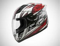 SOL-68SII-0073,Crusader II Serie Helmet,Composite,Motorcycle,4 Colors Design,COOLMAX Lining,8 Air Holes,Double D Buckle,DOT Test
