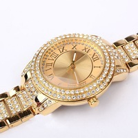 top luxury brand women fashion stylish rhinestone watch women gold dress watch diamond wristwatch wrist watches ,relogio,reloj