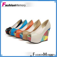 2013 fish toe women's platform shoes Sandals , comfortable wedges sandals shoes ,high platform pumps Size 34-40 HH853