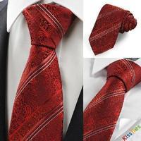 Free shipping tie silk stripes tie men dress business
