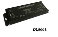 NEW 2013 Free shipping 120-240W  Dali  Dimmer, LED dimmer, Constant Voltage DC12-24V 1CH 10A 500Hz  led light controller DL8001