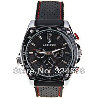 Free shipping 2013 new current winner mechanical watches stainless steel case silicone strap sports watches fashion luxury watch