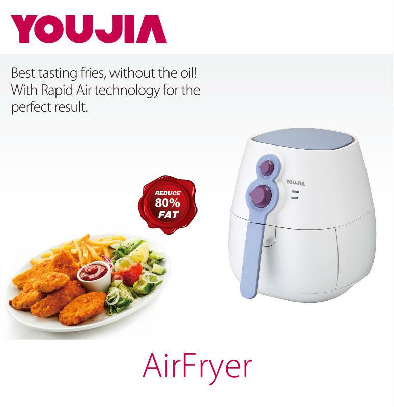 D 39 air sans huile friteuse friteuse sans huile air d 39 air for Appareils electromenagers cuisine