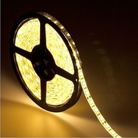 5050 led strip Warm white led strip waterproof include a power plug 60 leds per meter free shipping 80m/lot