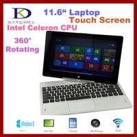 NEW Rotating intel celeron 1037U 1.8GHz, windows 8, 11.6 inch Tablet PC,4GB Ram,500GB HDD, keyboard attached, wifi