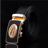 Promotion! 2014 NEW Brand Design Real Leather Belt Mens Genuine Leather Belt Man Luxury Men Belts Alloy Buckle Best As Gift