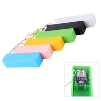20Pcs/Set Portable USB 18650 Battery Charger Mobile Power Bank Key Chain for iPhone MP3 (No Battery)#46500