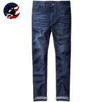 2014 Rushed Winter Jeans for Men/Promotion Time-Limied Bermuda Jeans Masculina/Free Shipping Fashion Solid Ripped Jeans for Men