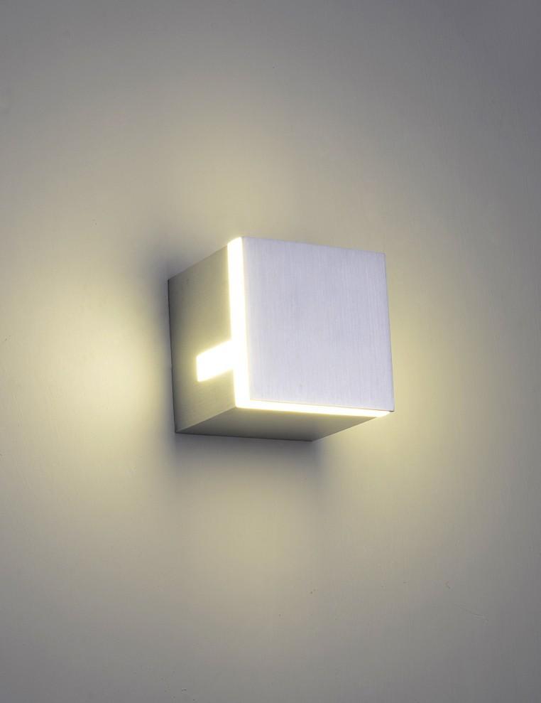 9w Led Wall Light Sconces Led Aluminum Square Wall Lamps
