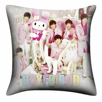 KPOP BOYFRIEND December New Pink Korean Comfortable Two Sided Pillow With Beautiful Picture DPW356