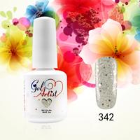 6pcs UV VARNISHES GEL  Gelartist Gel Polish From 58 UV KIT Colors Soak Off Nail Art free shipping