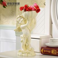 Fashion amontillados flower pot resin three-dimensional floor vase decorations gift