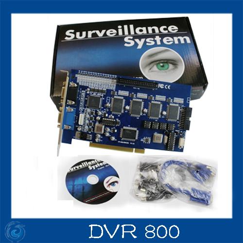 16CH DVR 800 v8.4 CCTV DVR Board DVR800 (V8.4) dvr Card for cctv systems(China (Mainland))