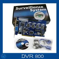 16CH DVR 800 v8.4 CCTV DVR  Board DVR800 (V8.4)  dvr Card for cctv systems