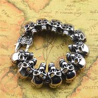 Italy fashion luxury brand bijoux crystal rhinestone cuff bracelet women rose gold titanium steel bangle jewelry acessorios gift