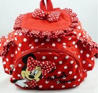 Kids backpack kids bag minnie mouse kintergarden children bag