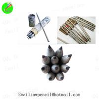 Customized 12pcs HB newspaper pencils in paper box ,LH-438,ex-factory price