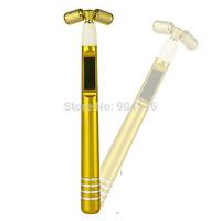 Solar power slimming beauty bar,  beauty roller,  24K Golden facial beauty Bar