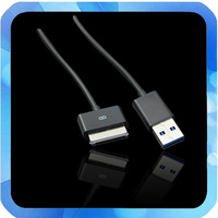 Free Shipping 5pcs USB 3.0 Data Cable Charger Cable for ASUS  TF101 TF101G TF201 SL101 TF300T TF700T 1M 40pin